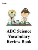 Science ABC Vocabulary Book