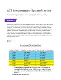 Science ACT Practice Passage- Anatomy Integumentary System- Burns and the Skin
