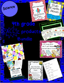4th grade Science ALL PRODUCTS Bundle