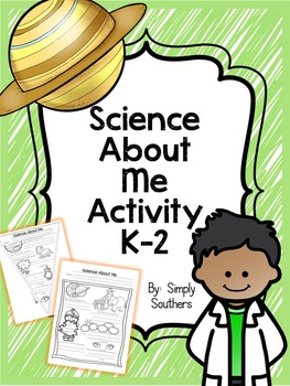 Science About Me Activity K-2