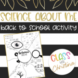 Science About Me - Back to School Activity
