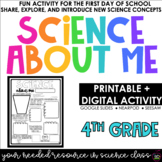 Science About Me | Science For Fourth Grade | Distance Learning