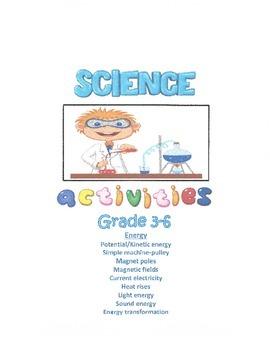 Science Activities - Energy (Grades 3-6)