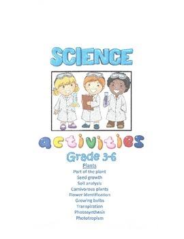 Science Activities - Plants (Grades 3-6)