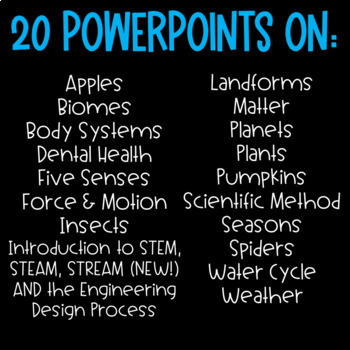 Science PowerPoints
