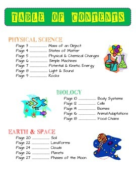 Science Activity Bundle