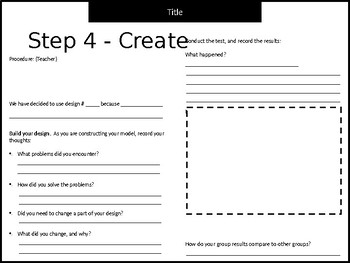 Science Activity Data Sheets