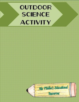 Science Activity Freebie