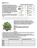Science Activity: Natural resources