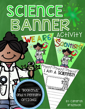 Science Activity Pennant Banner