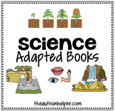 Science Adapted Books {for special education}