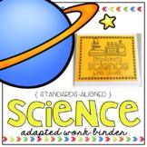 Science Adapted Work Binder - Grades K to 3