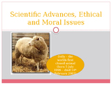Science - Advances, Ethics and Morals