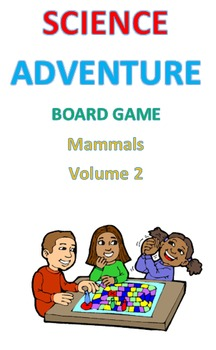 Science Adventure Board Game Mammals Volume 2