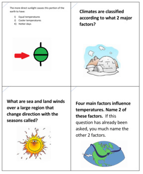 Science Adventure -- Climatograph Board Game