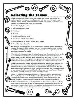 Science Adventures in Team Building