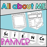 Science All About Me Banner