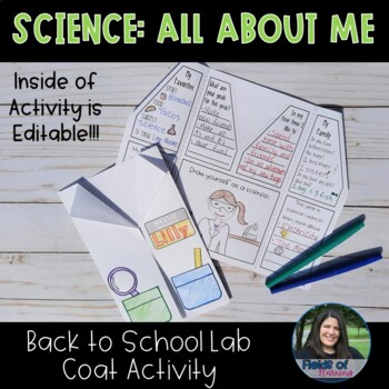 Science All About Me Lab Coat Activity