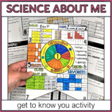 Science All About Me for Middle School - Activity and Bull