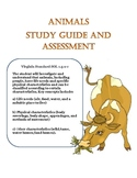 Science: All about Animals Science and Study Guide