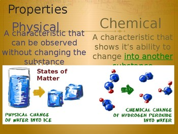 Science All about Matter power points