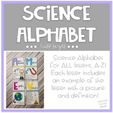 Science Alphabet