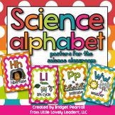 Science Alphabet Posters