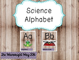 Science Alphabet Posters- Half Sheet