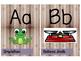 Science Alphabet Posters- Half Sheet