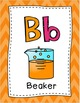 Science Alphabet Posters and Word Wall Headers