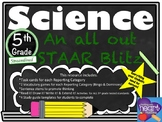 Science: An all out STAAR Blitz for 5th Grade