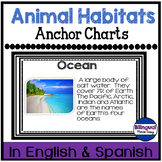 Science Anchor Chart Posters in English & Spanish: Animal