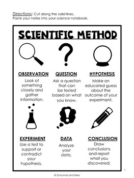 Science Anchor Charts-Scientific Method