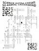 Science Animal Crossword Puzzle