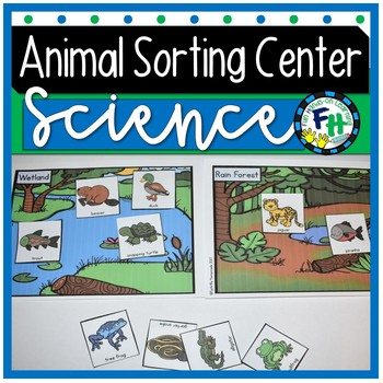 Science: Animal Sort & Learn Activity Set