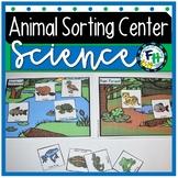Science: Animal Sort & Learn Activity Set