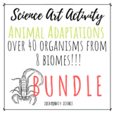 Science + Art Activity BUNDLE: Structure and Function {Ani