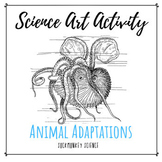Science Art Activities: Structure and Function {Ocean Anim