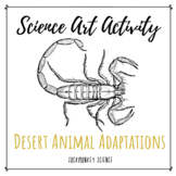 Science + Art Activity: Structure and Function {Desert Animal Adaptations}