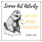 Science + Art Activity: Structure and Function {Grassland Animal Adaptations}