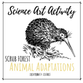 Science + Art Activity: Structure and Function {Scrub Forest Animal Adaptations}