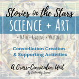 Science + Art: Constellation and Myth Creation Unit {Stories in the Stars}