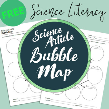Science Article Bubble Map