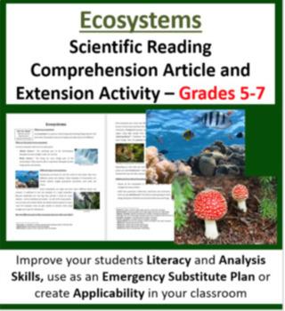 Science Article Bundle Volume 2 - 35 Science Reading Articles - Grades 5-7