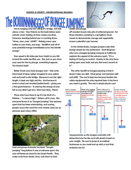 Sports & Science Article - Bungee Jumping