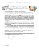 Science Article Summary