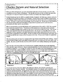 Charles Darwin and Natural Selection