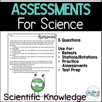 Science Assessments - 5.N.1.1