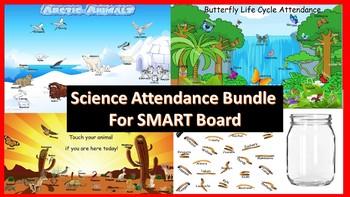 Science Attendance Bundle for SMART Board