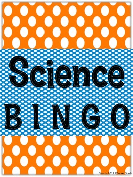 Science BINGO ~Back to School~ Uses students' minds instead of numbers